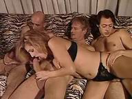 Awesome orgy ends with double drill