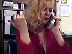 Mature office slut licked by boss and sucking cock
