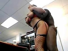 Mature secretary fucked by boss and sucks him cock