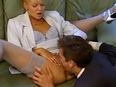 Office girl fucked in every poses and gets cumload